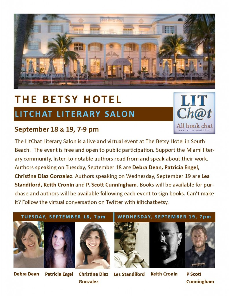 LitChat Literary Salon - Flyer